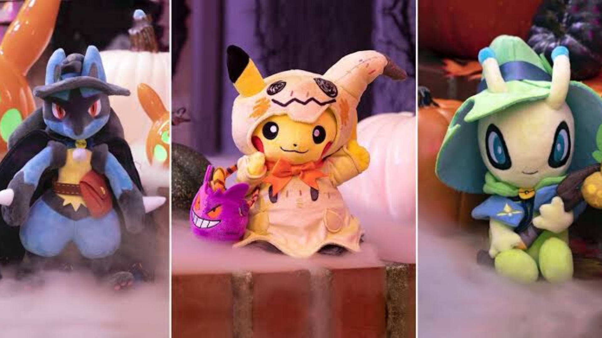A new Pikachu plush at Pokémon Center- but it's not exclusive to the store