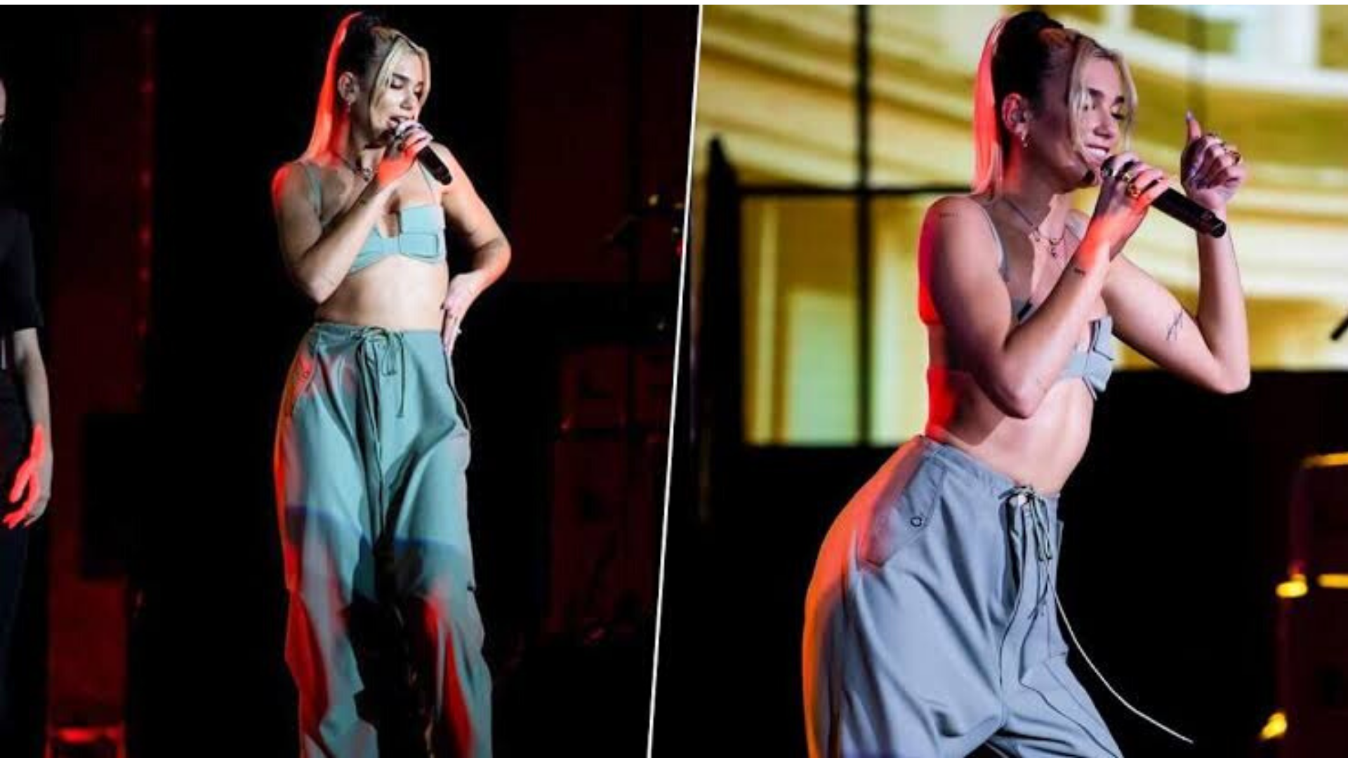 Katy Perry and Dua Lipa making fans crazy in a show in Mumbai
