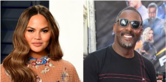 Idris Elba responded to Chrissy Teigen's challenge with a 1995-ish photo