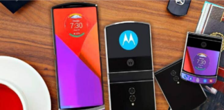 Motorola's razr now as a foldable android smartphone - specs inside