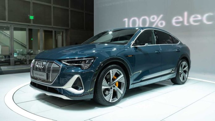 AUDI'S SECOND ELECTRIC CAR ANNOUNCED-
