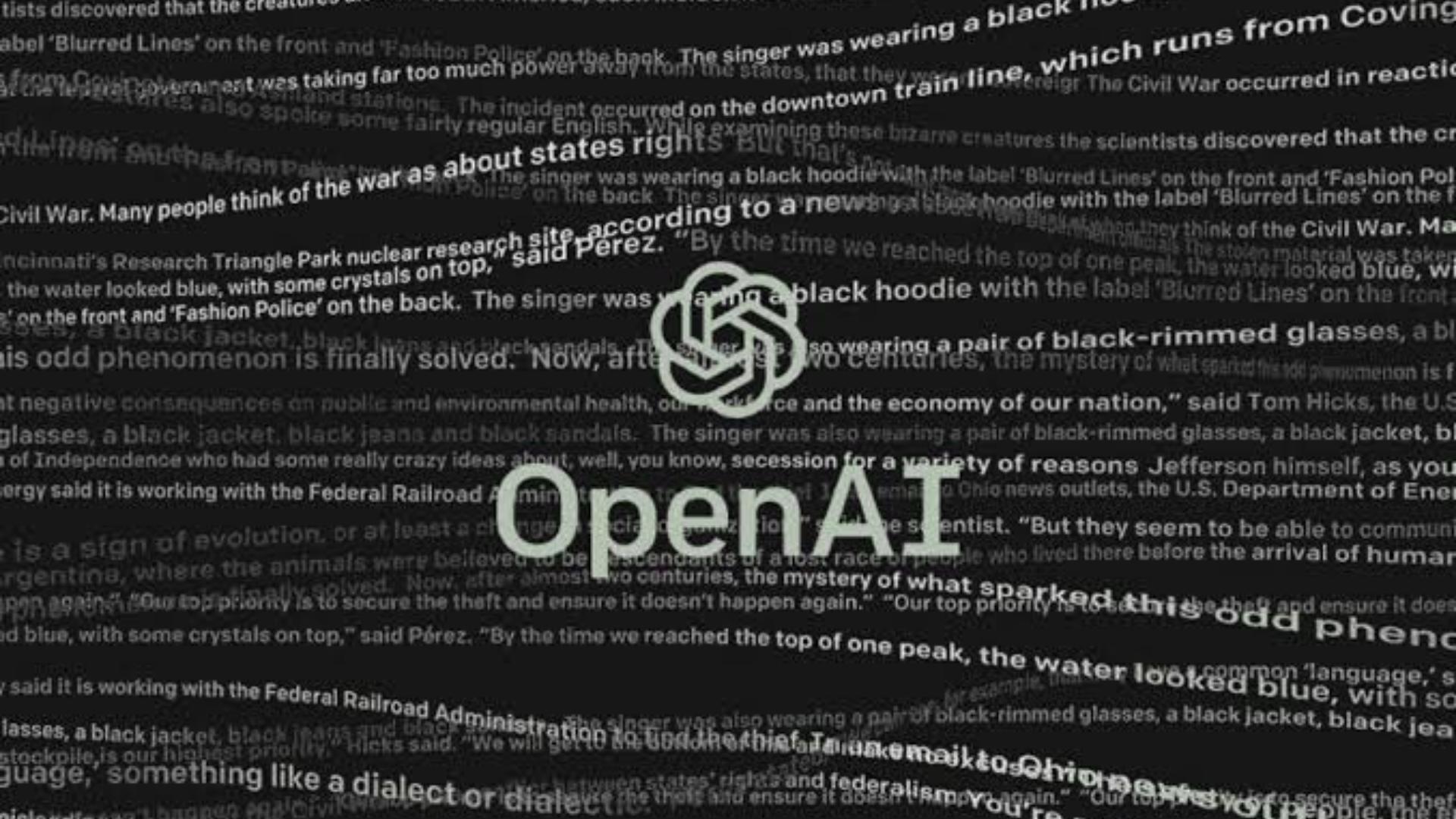 "OpenAI Releases New ""Dangerous"" Text Generator AI : Details inside"