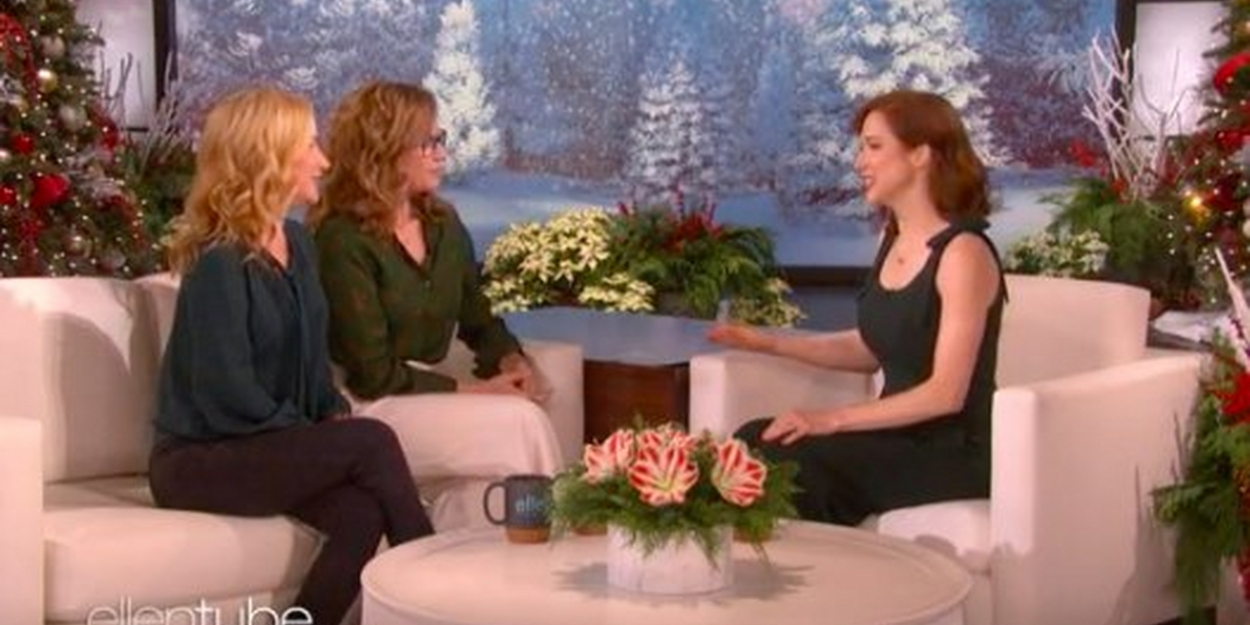 The Office' Alums Jenna Fischer And Angela Kinsey Talk About Rebooting NBC Comedy On 'The Ellen DeGeneres Show'