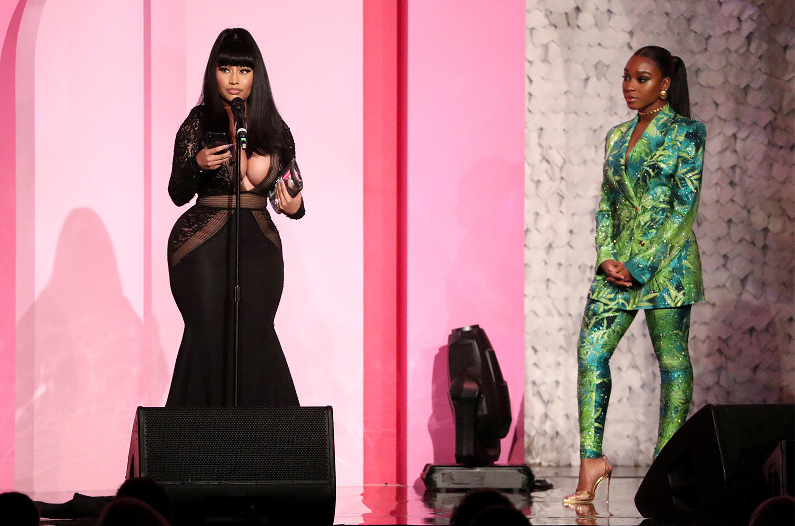 "Nicki Minaj Pays Tribute to ""Juice WRLD"" at Billboard Women in Music 2019"