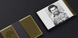 Pablo Escobar's new folded smartphone released- can destroyed by fire