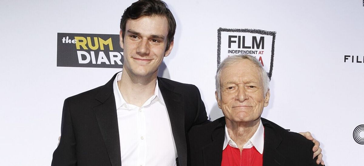 Hugh Hefner's most youthful child Cooper joins the US Air Force