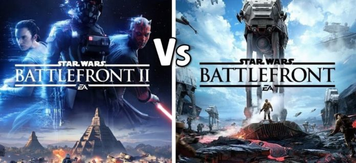 Star Wars Battlefront II from the Skywalker adventure duel for the last time