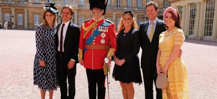 Sarah Ferguson acclaims 'solid' girls hounded by Prince Andrew embarrassment