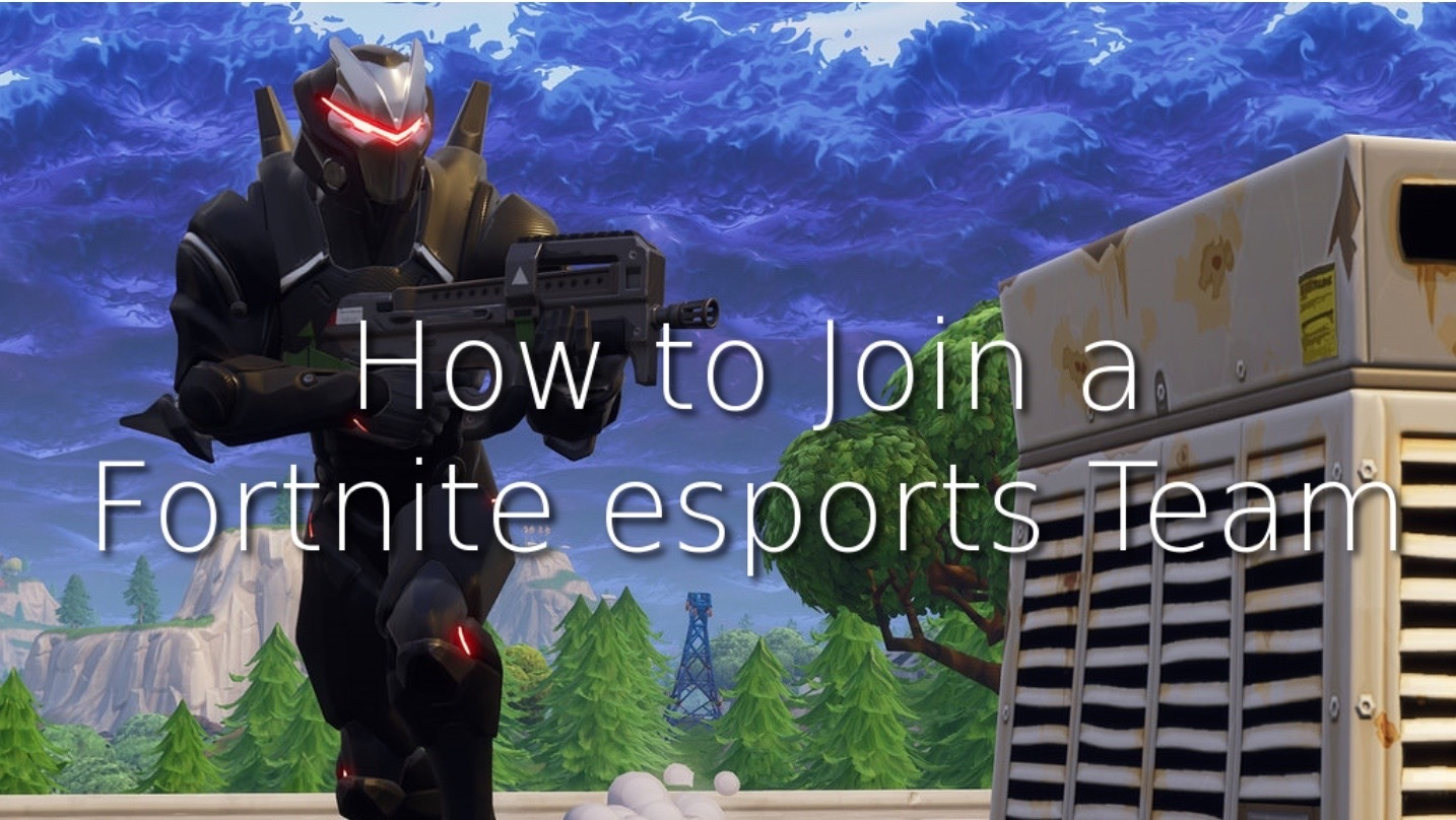 How to join esports team