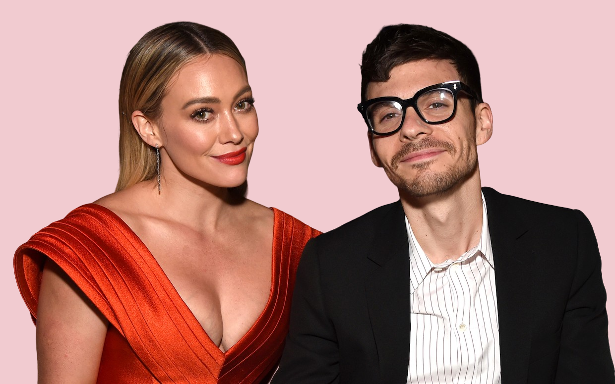 Hilary Duff Just released A Series Of Heavenly BTS Pics From Her Wedding