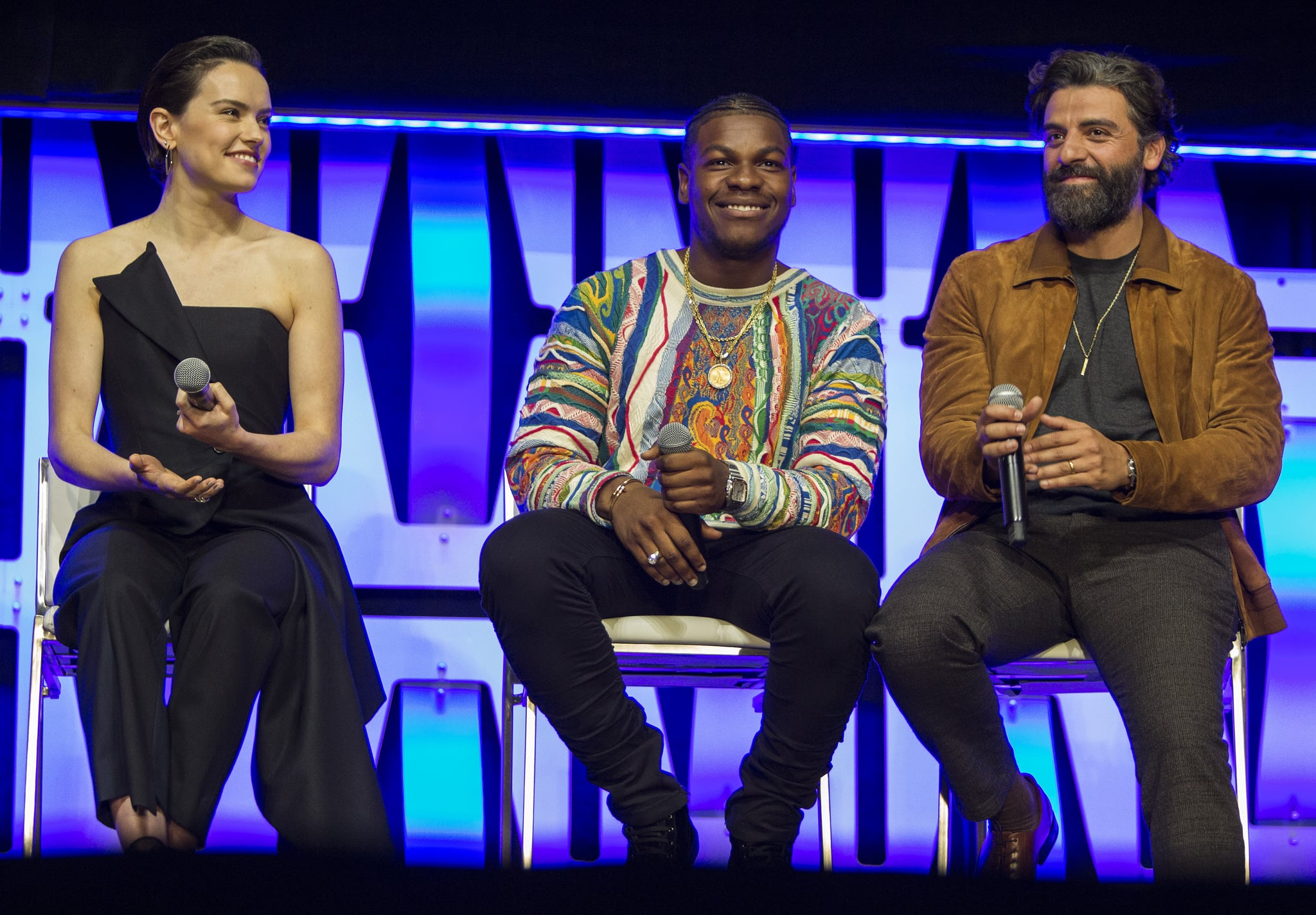 Daisy Ridley and John Boyega to feel the power at Star Wars debut