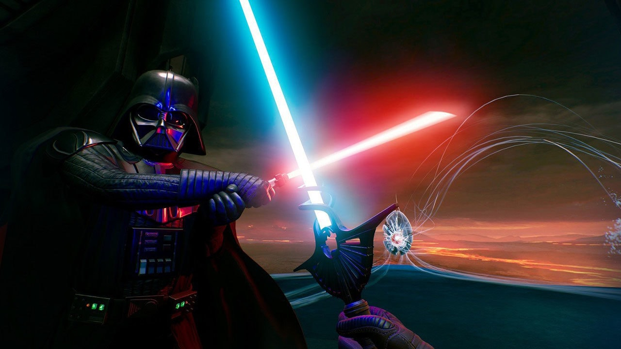 A New Lightsaber VR Experience Now Glowing