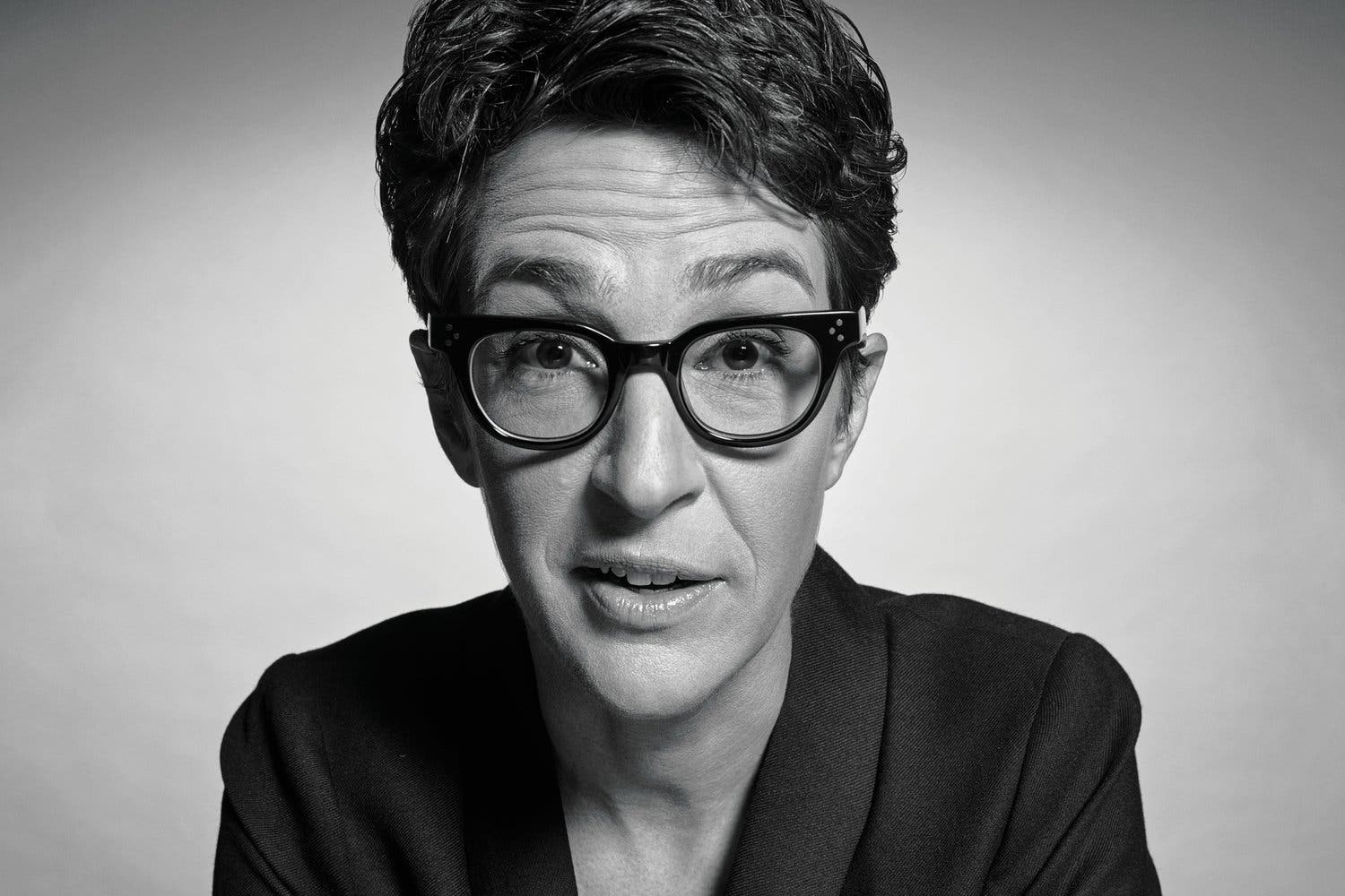 I lose my will': Rachel Maddow uncovers fight with sorrow in new history