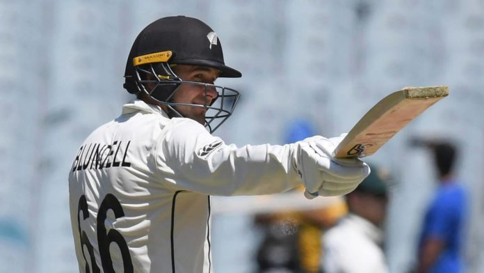 Tom Blundell hits Test century on day fourth loss to Australia