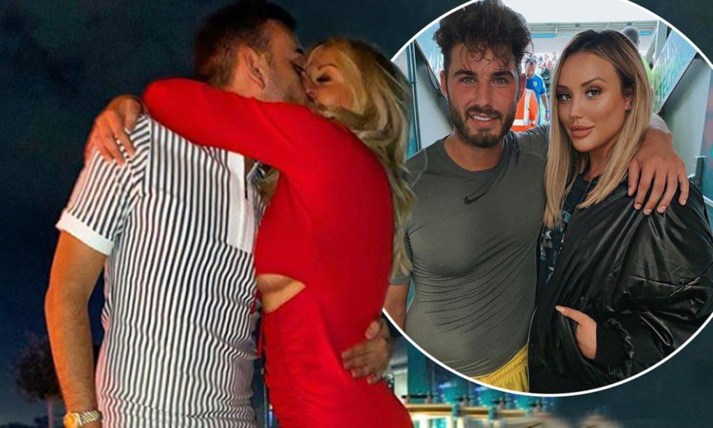 Liam Hemsworth Captured kissing his 23-year-old model girlfriend Gabriella Brooks in Byron Bay