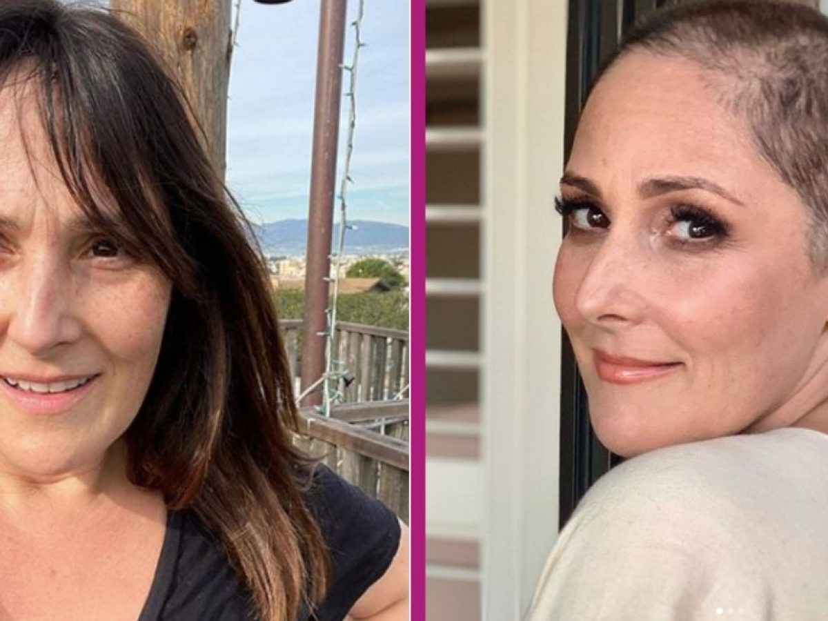 Ricki Lake Shaves Her Head After sharing Her Nearly 30-Year Struggle With Hair Loss