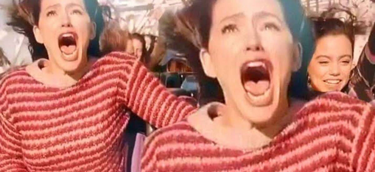 Jennifer Garner shares Hilarious Video Riding a Rollercoaster for her New Movie Yes Day