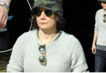 Sara Gilbert and estranged wife Linda Perry attend the same event just weeks after announcing separation of their six-year marriage