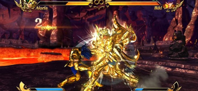 Saint seiya bright soldiers smartphone game shows Bandai Namco