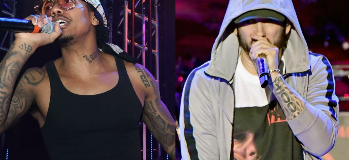 Nick cannon targets Eminem fans in latest diss tracks 'use to look up to you'