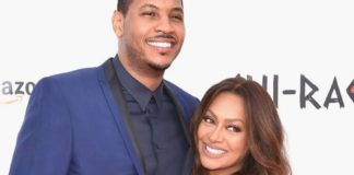 """Despite The Power Star """"La La"""" Being Seen With Another Man is Still Together with Carmelo Anthony"""