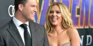 Scarlett Johansson Release Jokes About Engagement to Colin Jost