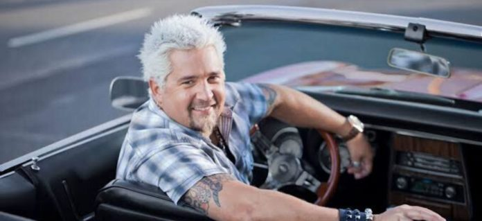"Guy Fieri, Host of Food Network show ""Diners, Drive-ins, and Dives,"