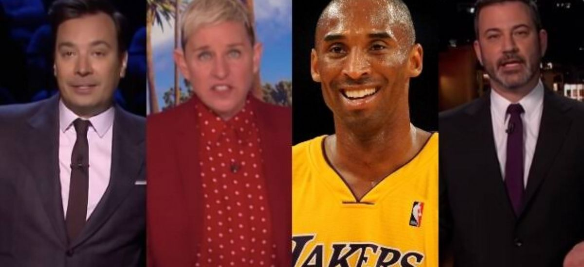 """""""Terrific Guest"""" Kobe Bryant memory Late-night hosts see all the details"""