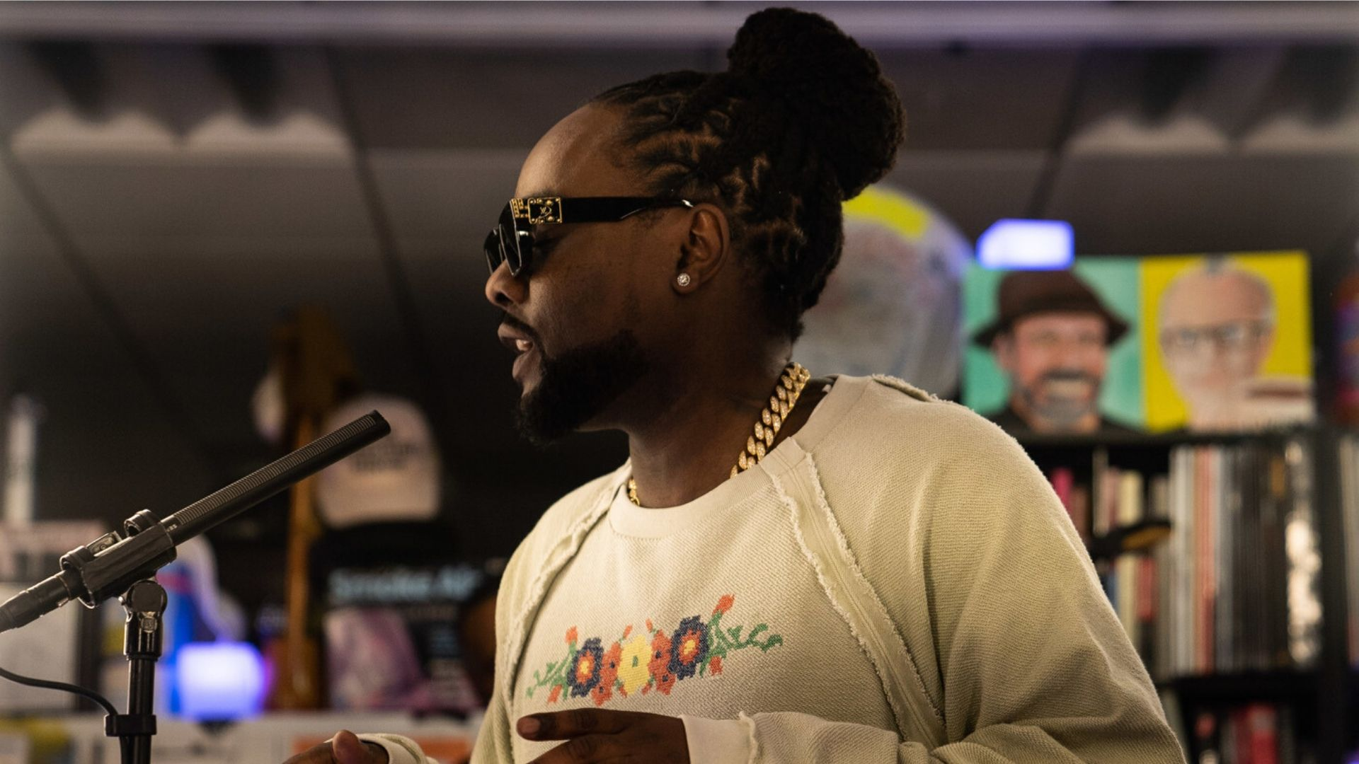"""A """"Tiny DesK"""" Concert performed by """"wale""""- Here are the details"""