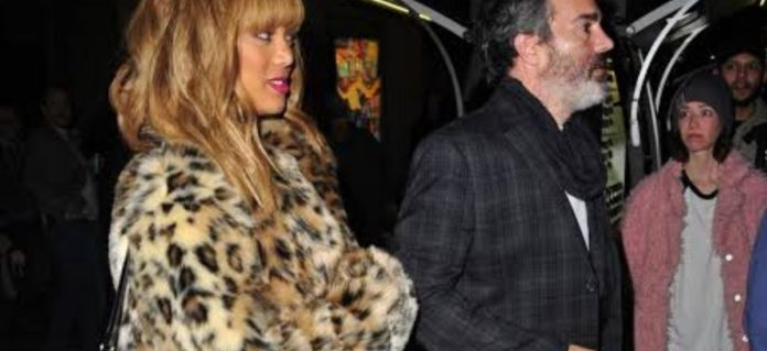 Tyra banks and her beau are in love.