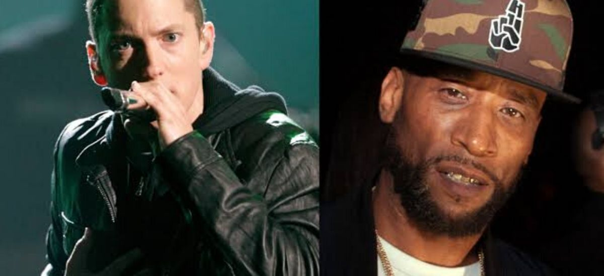 Eminem replied to lord jamar on observe 'I Will'