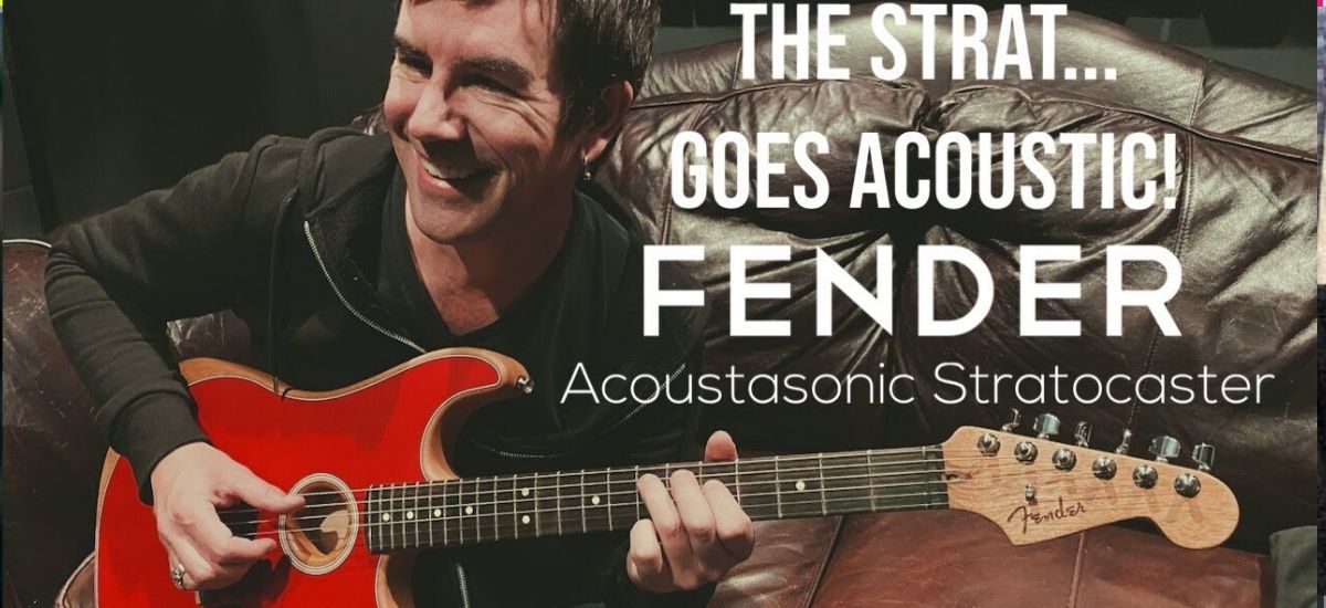 Fender Announces Acoustasonic Stratocaster. Check Out the Prices & What It Looks Like