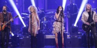 """Little Big Town takes the stage on """"The Tonight Show Starring Jimmy Fallon""""- Episode 1188 (First Look)"""