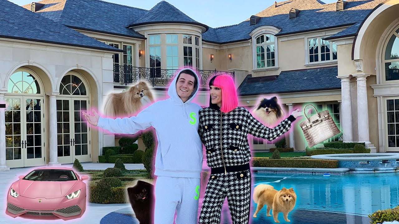 "Jeffree Starr formally reveals his $14.6 million ""dream"" house"
