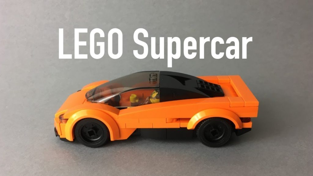 The Ultimate Lego supercar