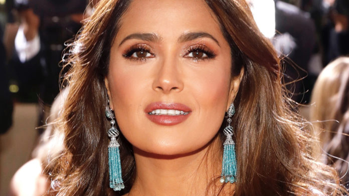 The Charlotte Tilbury lipstick wore by Salma Hayek to the Golden Globes is available to purchase.