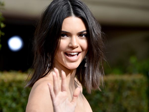 Kendall- Jenner- made- her- long-awaited- TikTok- debut- gained- half- a- million- followers- in- hours