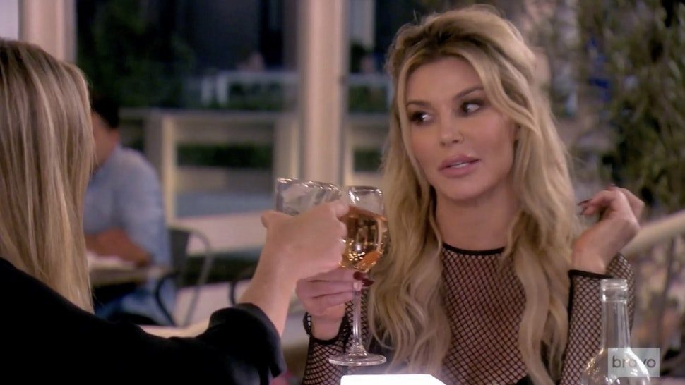 Brandi- Glanville- Reportedly- Passed- Out- For -15 Hours- After- Drinking- Three- Bottles- of- Wine,- Ross- Mathews- claims