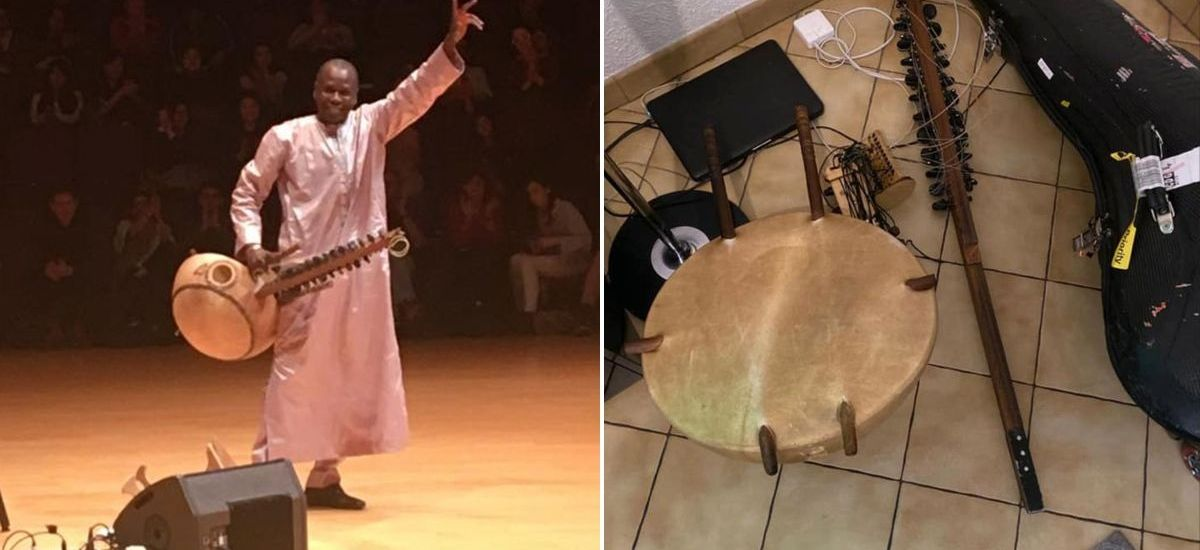 A World-Renowned Kora Player (Malian Musician) Claims His Custom-Made Instrument Destroyed By JFK Airport TSA Agents