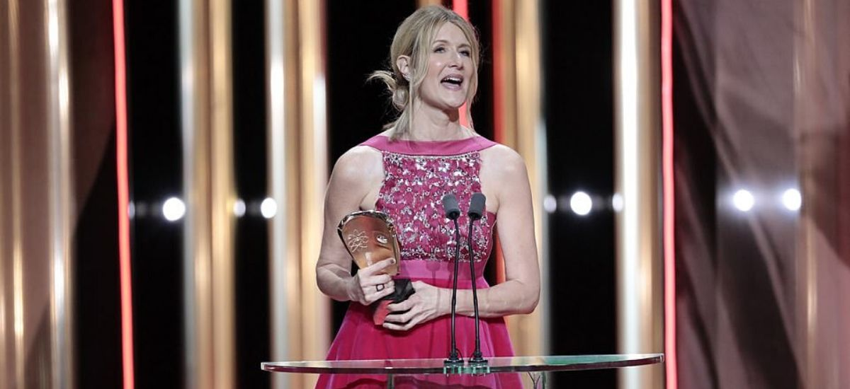 BAFTAs 2020: Laura Dern wows in a pink velvet gown takes home the supporting Actress gong for Marriage Story