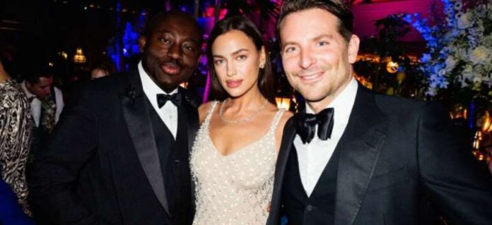 Bradley- Cooper- and- Irina- Shayk- reunited- at- the- British- Vogue- and- Tiffany- & Co. 2020- Fashion- and- Film- Party