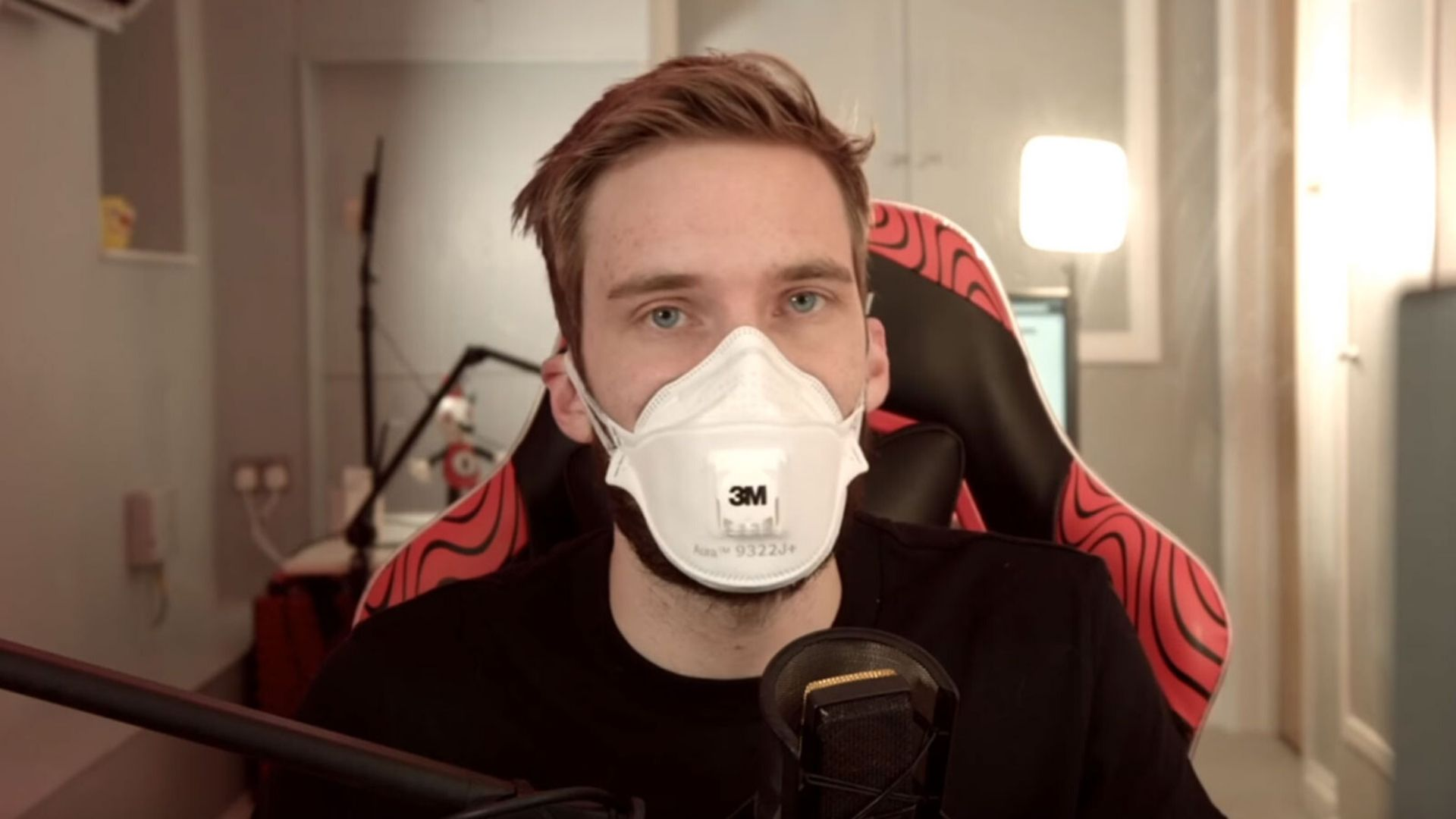 Pewdiepie talks about corona virus in his new video