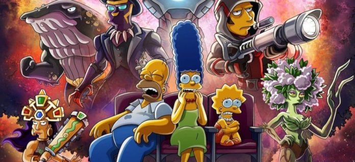 The Simpsons Honors Avengers: Endgame In A New Poster
