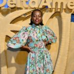 Lupita Nyong'o stepped out in style to celebrate the re-launch of the Delta Skymiles American Express card