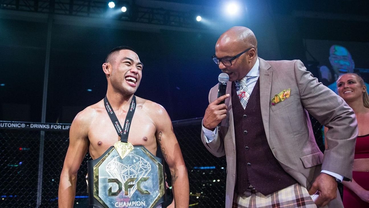 Joshua Culibao The Filipino-Australian Fighter Makes His UFC Debut In Auckland