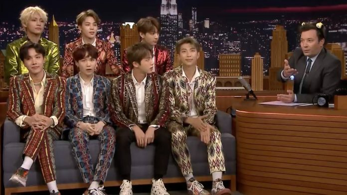 BTS will be returning to the Tonight show starring Jimmy Fallon soon answering some fan questions.
