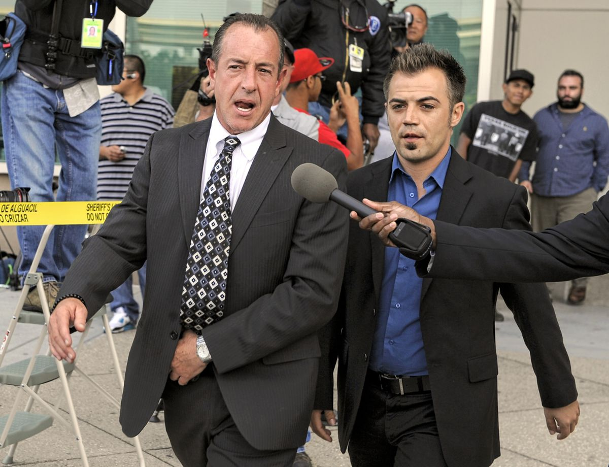 Lindsay Lohan's Dad, Michael Lohan, Was Arrested For Allegedly Assaulting His Estranged Wife, Kate Major.