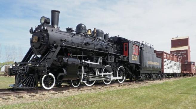 locomotive in Museum