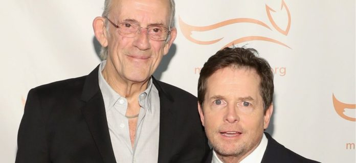 'All-In': See-Michael-J.-Fox,-Christopher-Lloyd's Sweet-'Back-To-The-Future'-Reunion-Photo