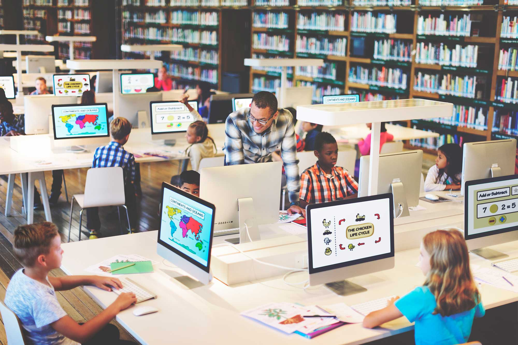 Five applications to improve students educational achievements